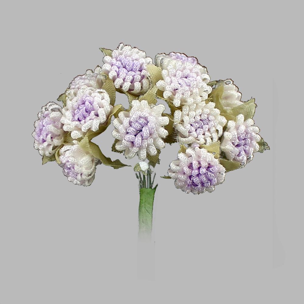 Racimo de florecillas 5cm lila