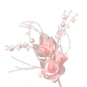 Ramillete Amades rosa palo