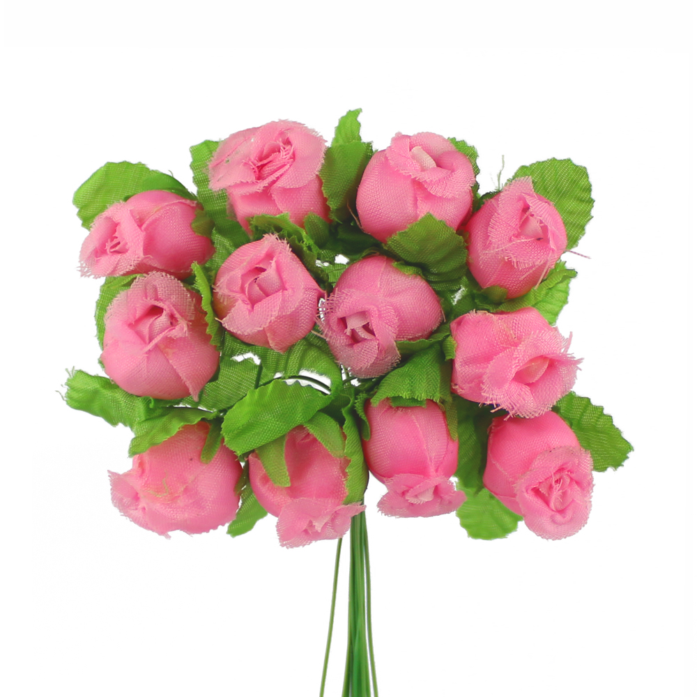 Ramillete capullos de rosas rosa