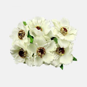 Ramillete con semillas 8×9 cm crudo