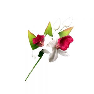 Ramillete de Orquidea 19×11 cm buganvilla