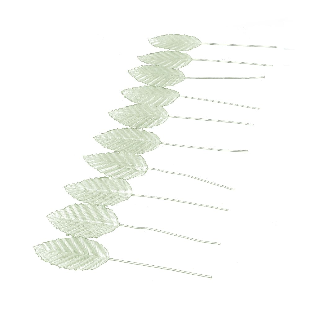 Ramillete de hojas plata
