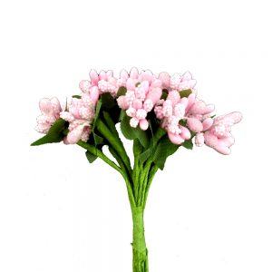 Ramillete de pistilos rosa