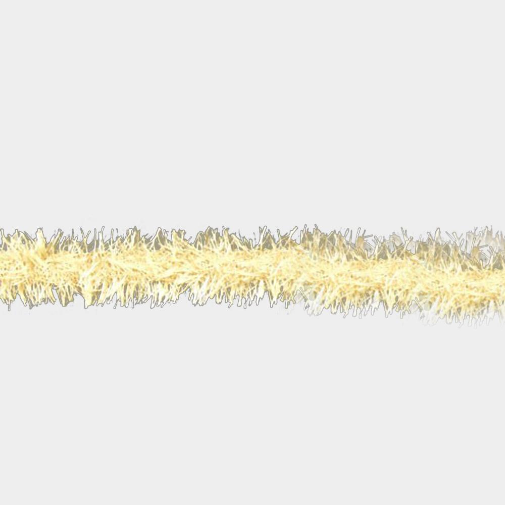 Rayon galon imitacion pluma beige