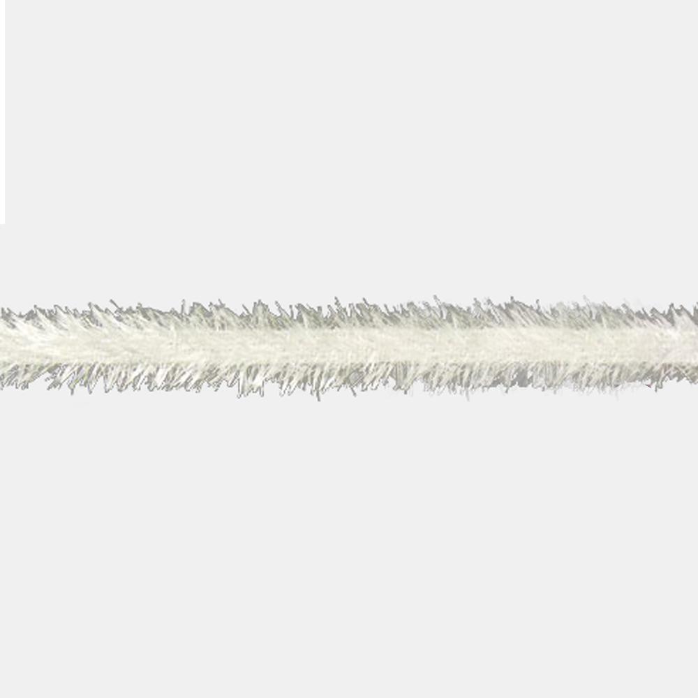 Rayon galon imitacion pluma crudo