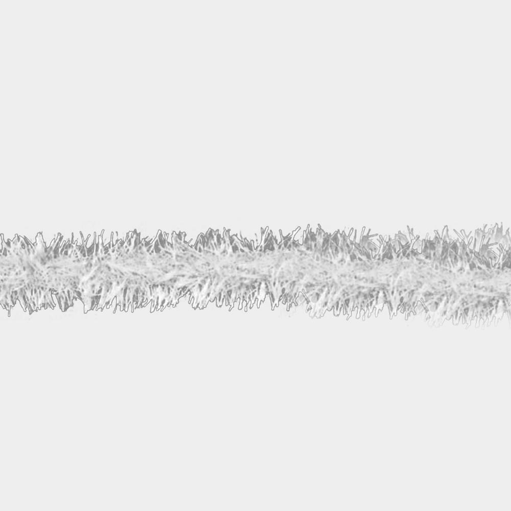 Rayon galon imitacion pluma gris