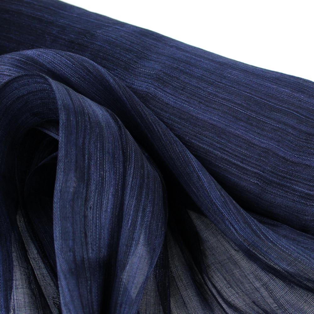 Sinamay seda 95 cm Perfecto azul marino
