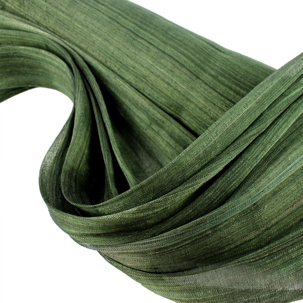 Sinamay seda 95 cm Perfecto verde oliva