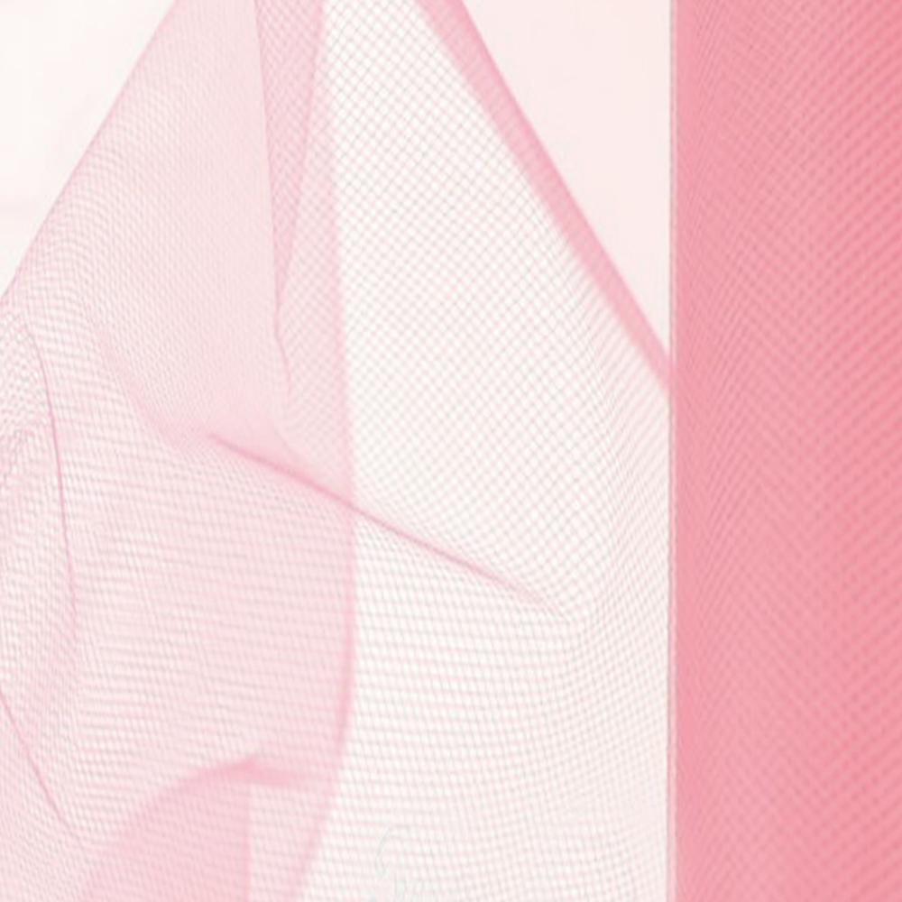 Tul 48 CM rosa
