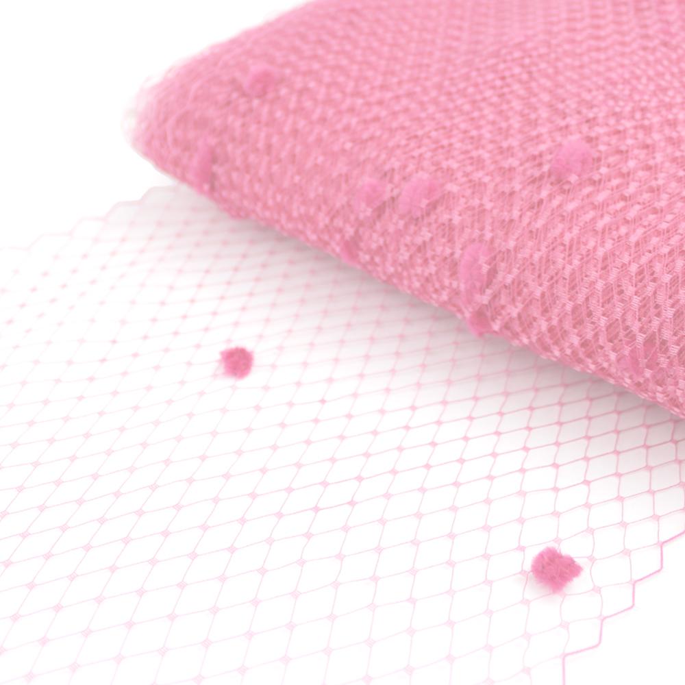 Velo 23 cm plumeti rosa