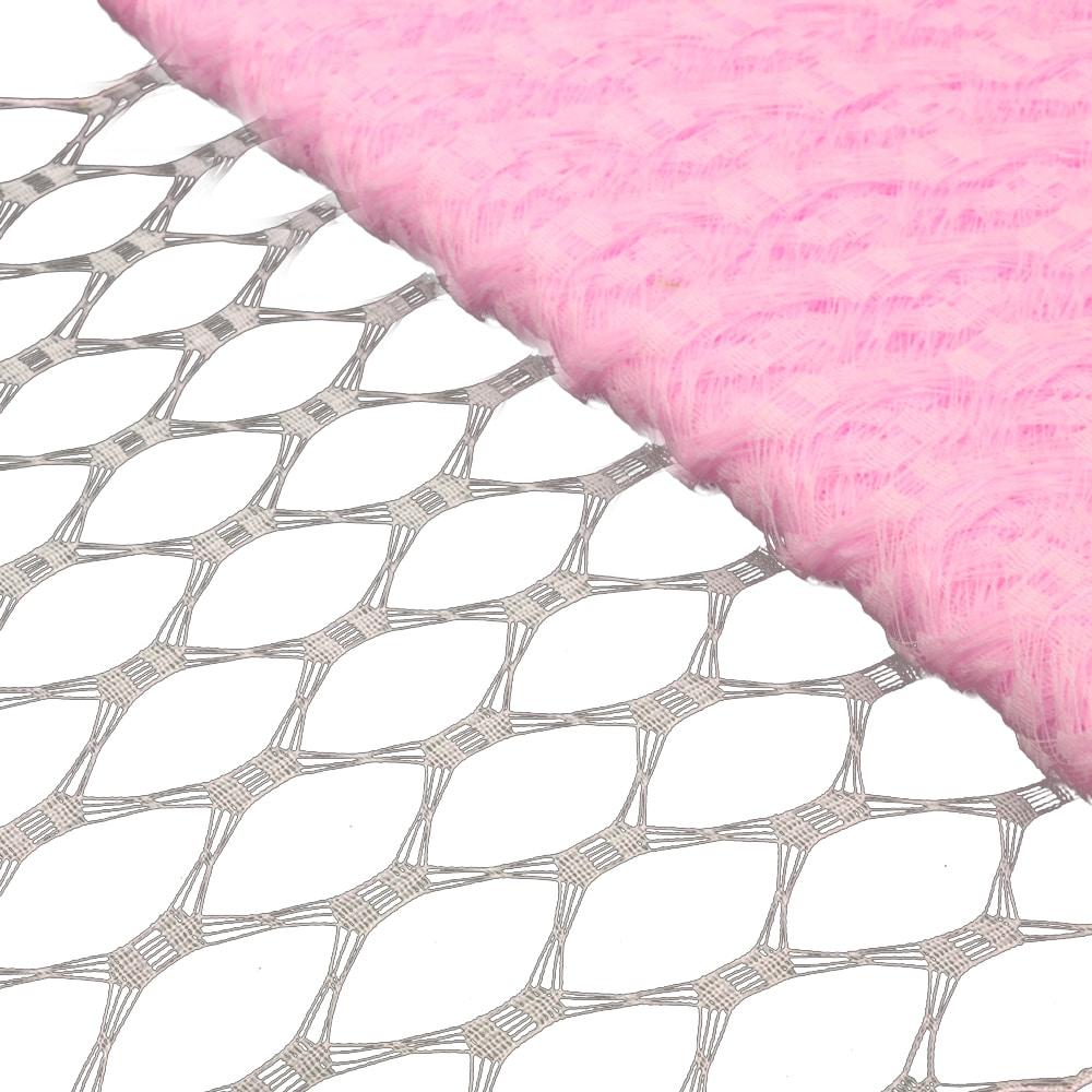 Velo hexagonal 23 cm rosa