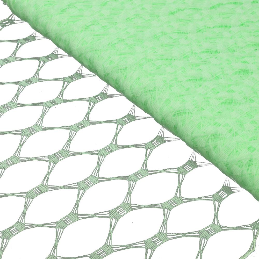 Velo hexagonal 23 cm verde menta