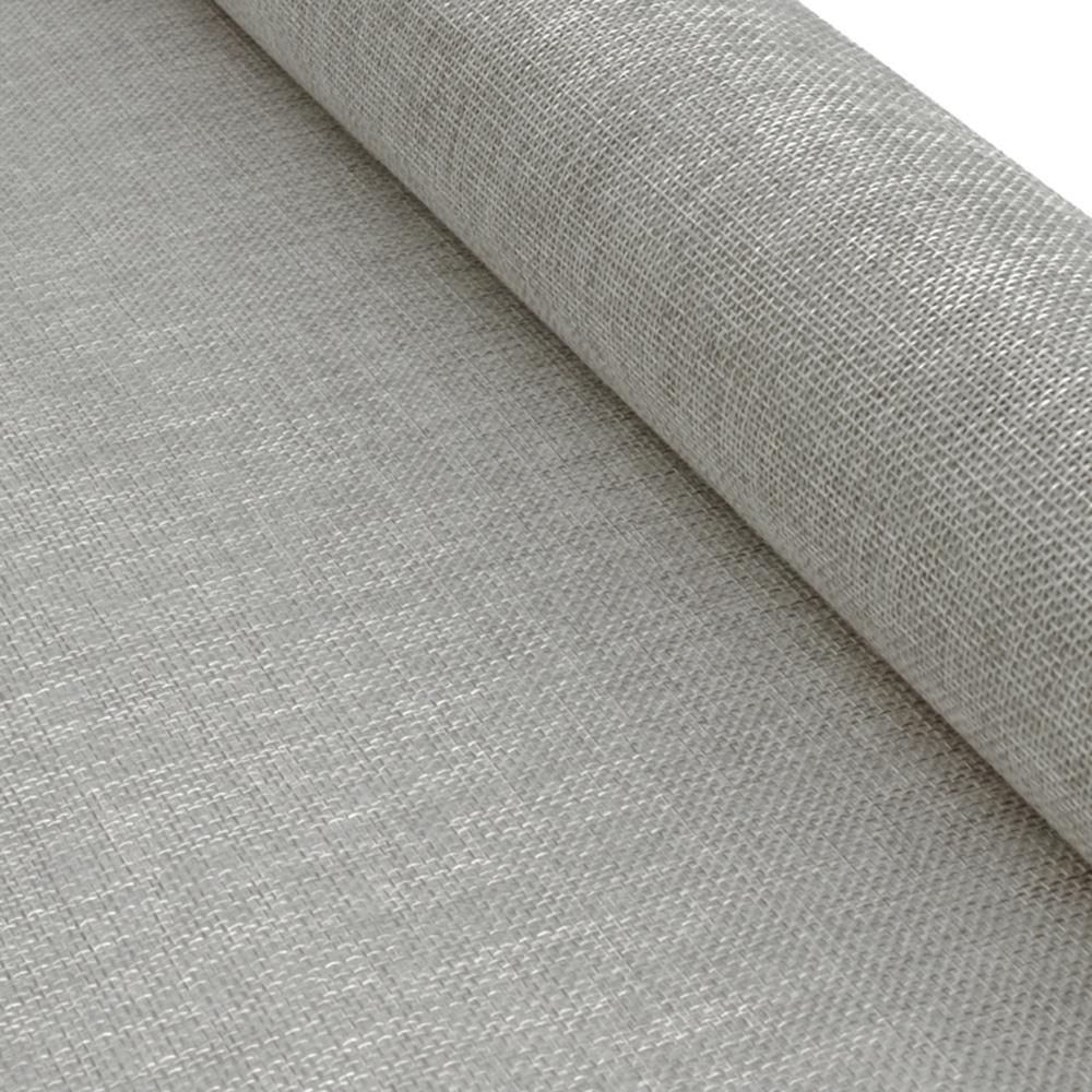 Yute 48 cm Alta calidad gris plata