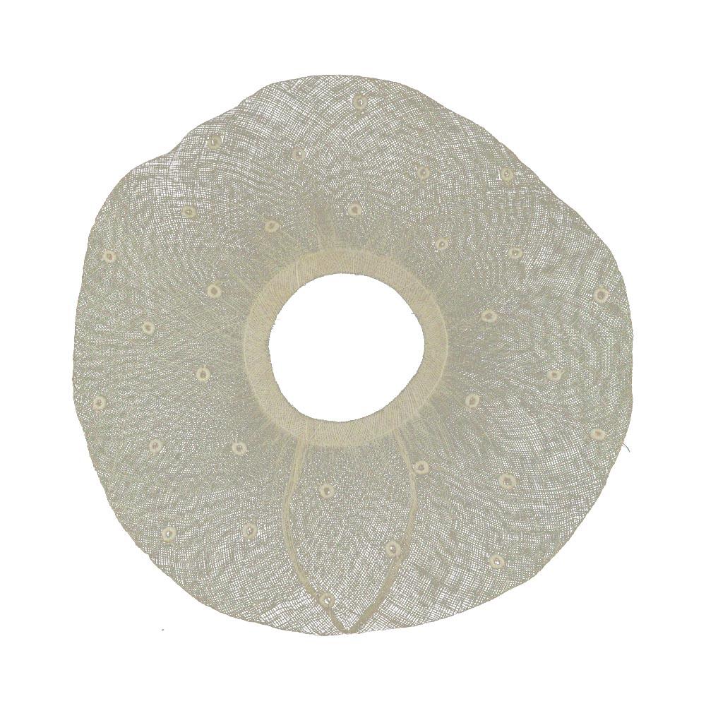 ala pamela plumetti 45 cm crudo