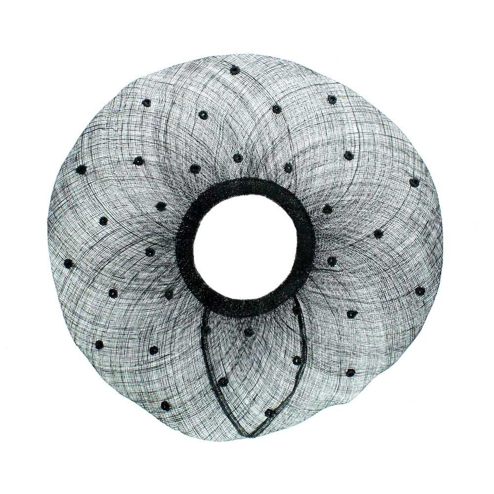 ala pamela plumetti 45 cm negro