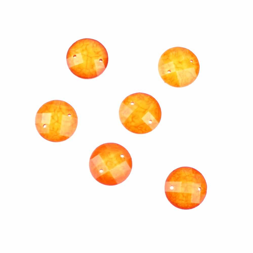 aplicacion circular marmoleada 12 mm ambar