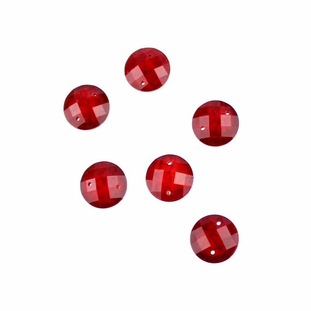 aplicacion circular marmoleada 12 mm granate