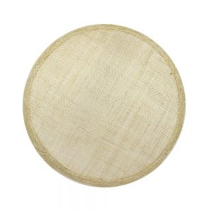 base circular 14 15 cm sinamay natural