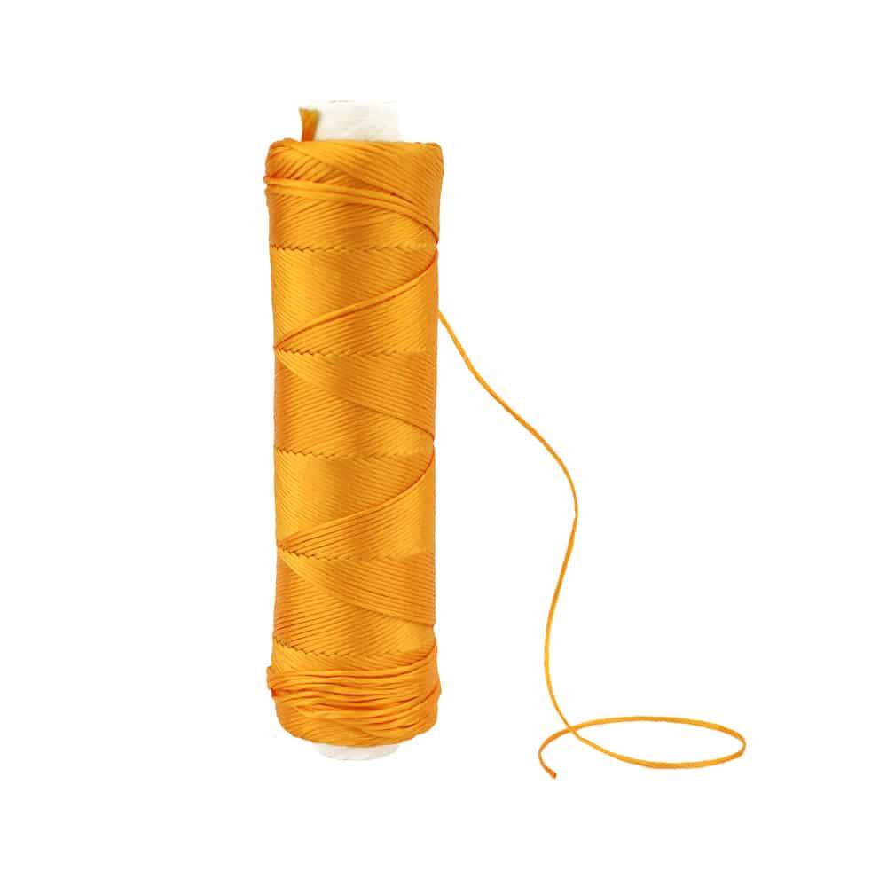 bobina hilo de seda ambar
