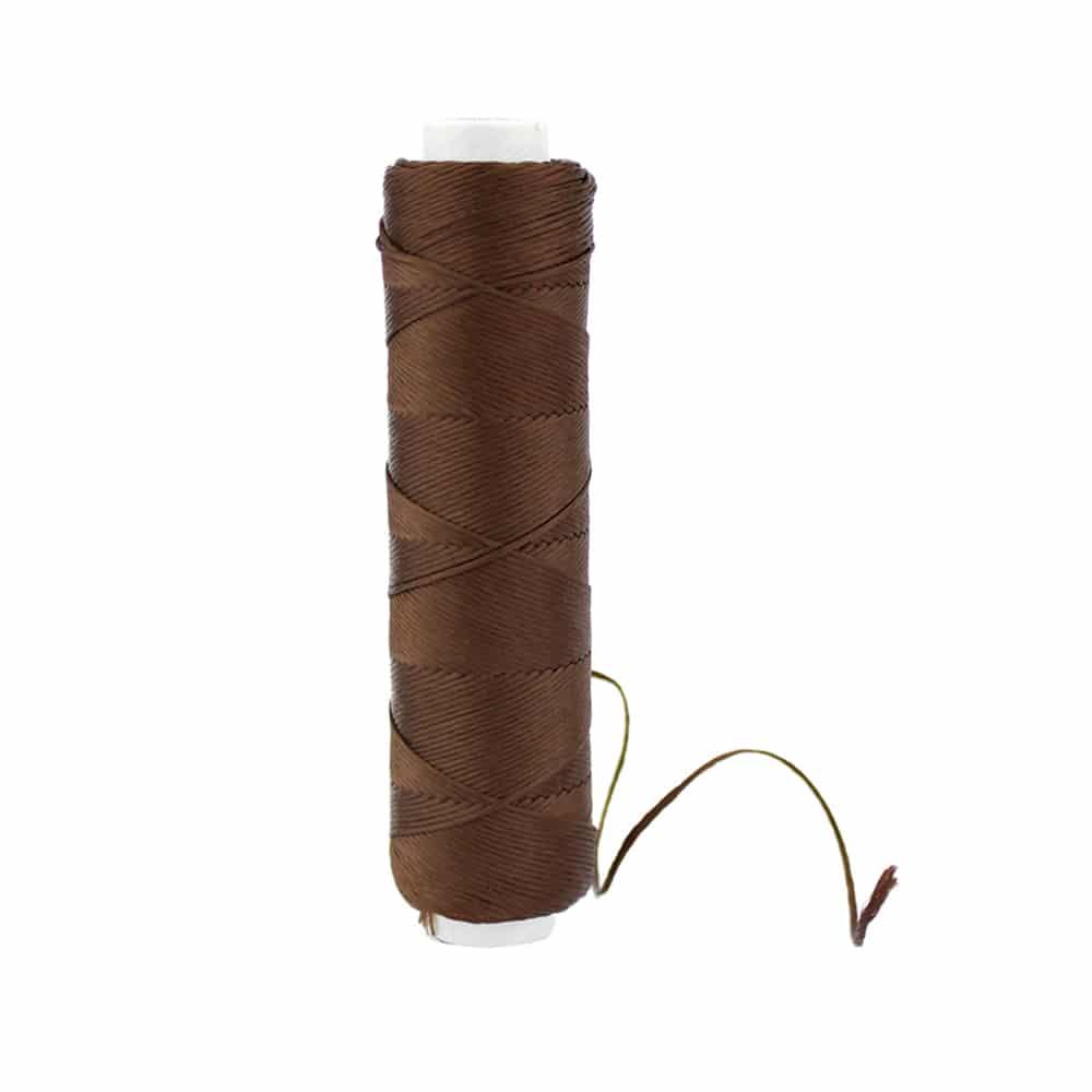 bobina hilo de seda chocolate