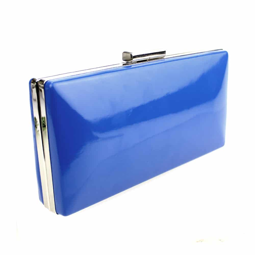 bolso percula azul klein