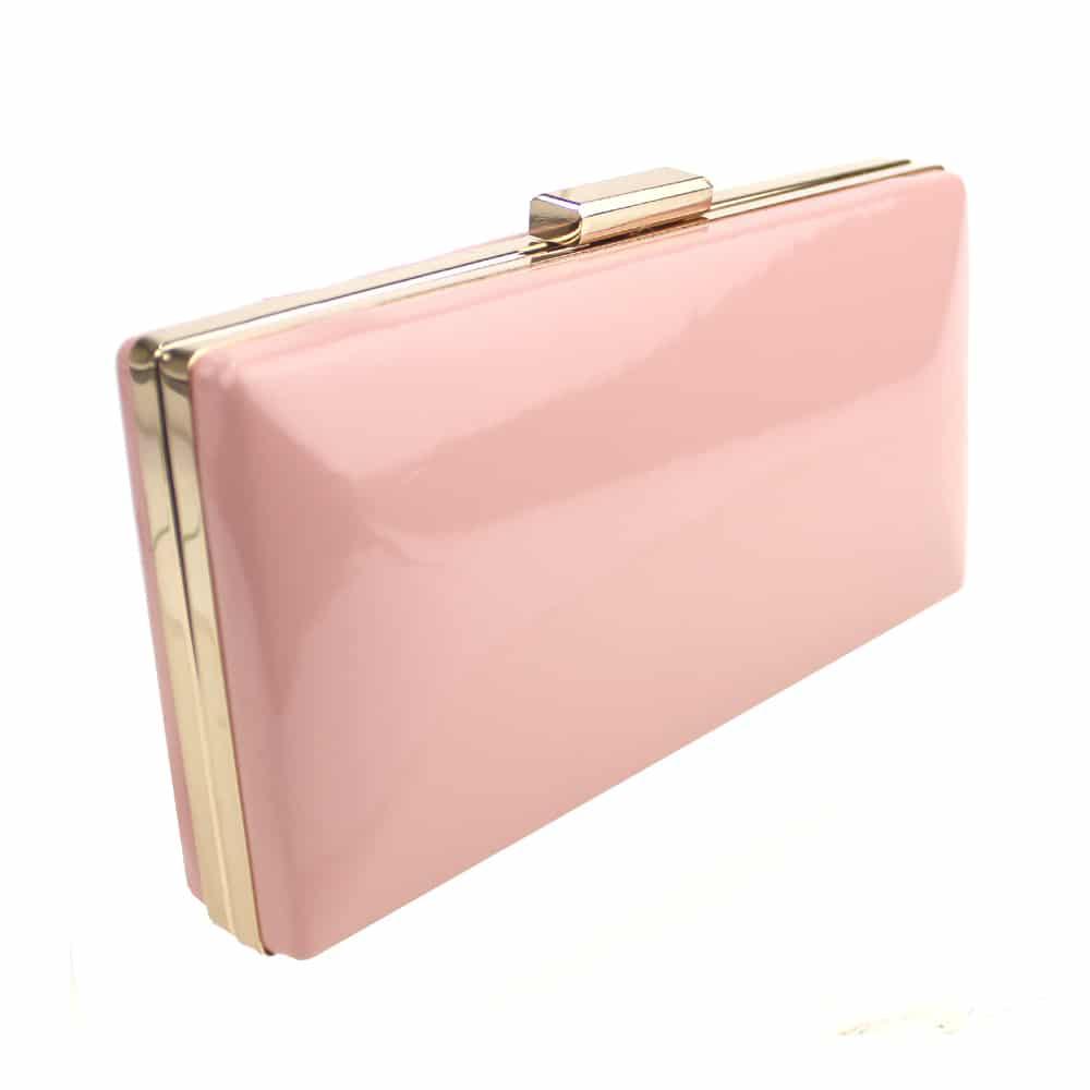 bolso percula rosa nude