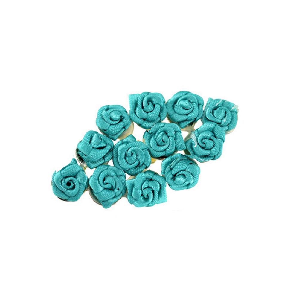 broche con florecillas jade