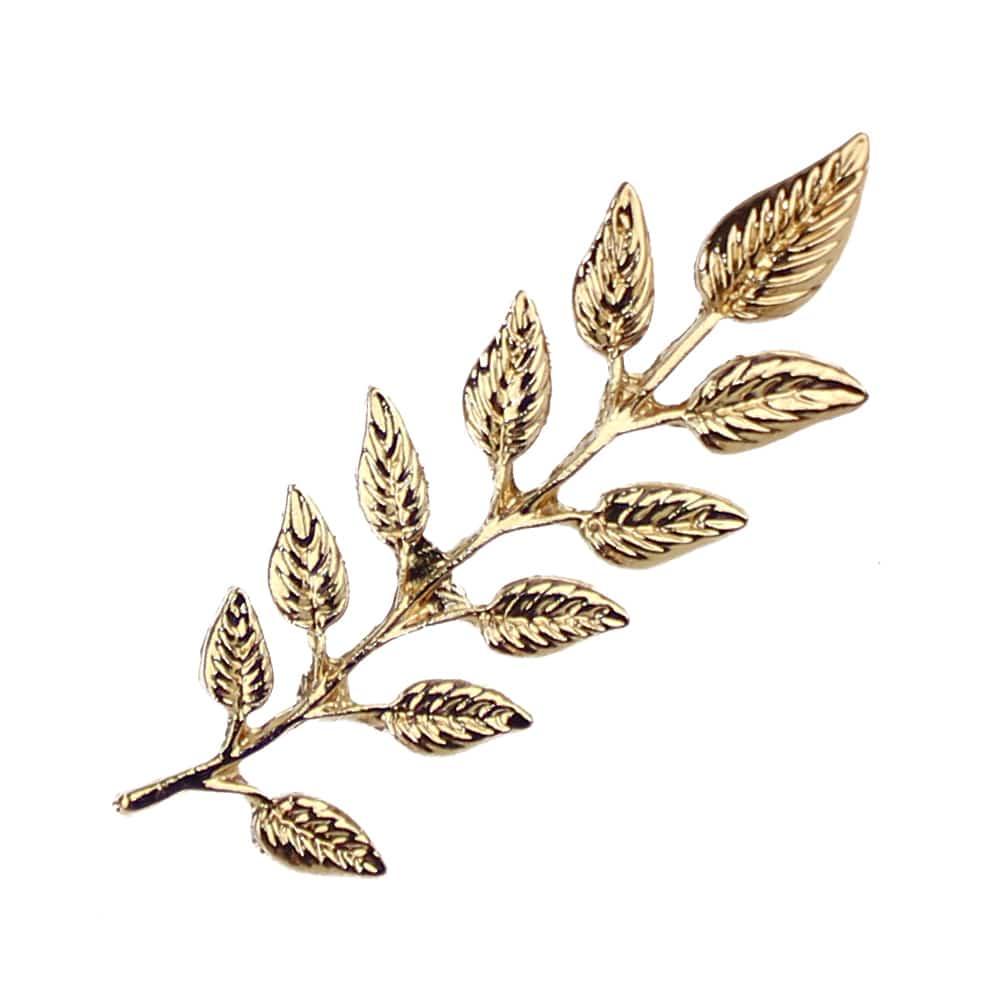 broche rama pin oro