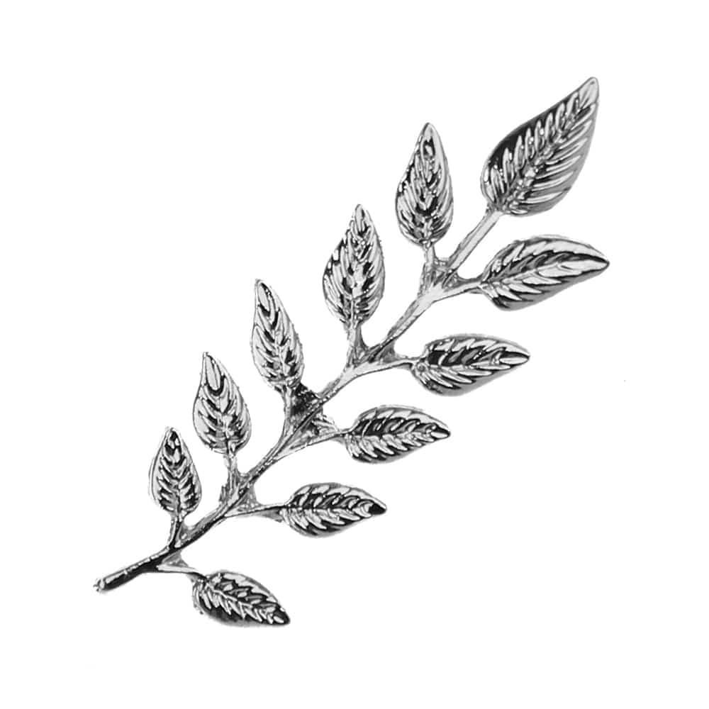 broche rama pin plata