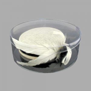 caja conica 23x8 alta calidad transparente