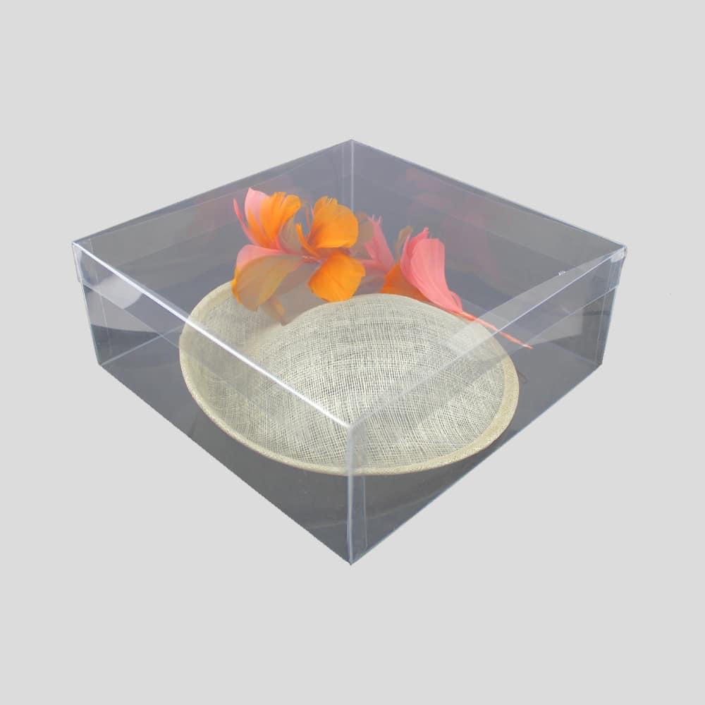 caja cuadrada 26x26x10 alta calidad
