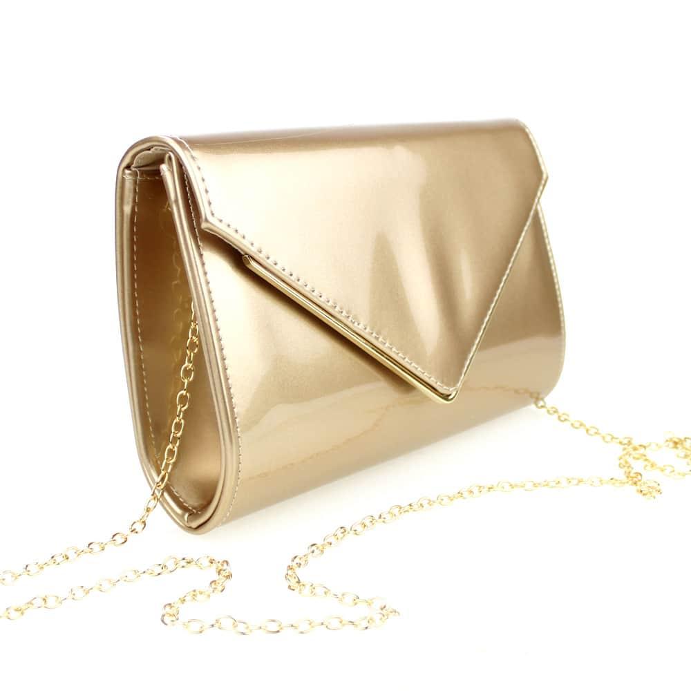cartera barona dorado