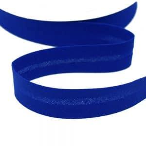 cinta bies de algodon 18 mm azul klein