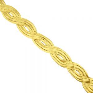 cinta saten ochos 4 5 cm oro