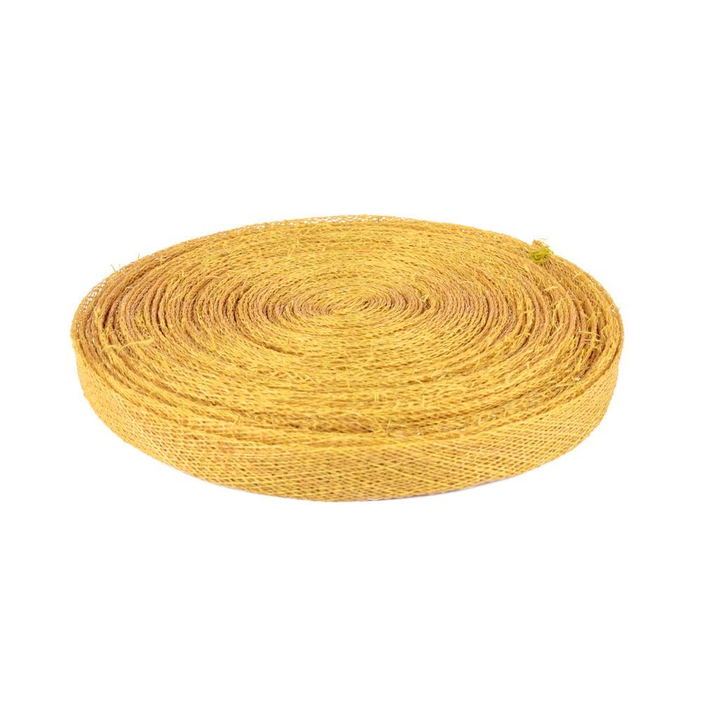 cinta sinamay 1 cm dorado