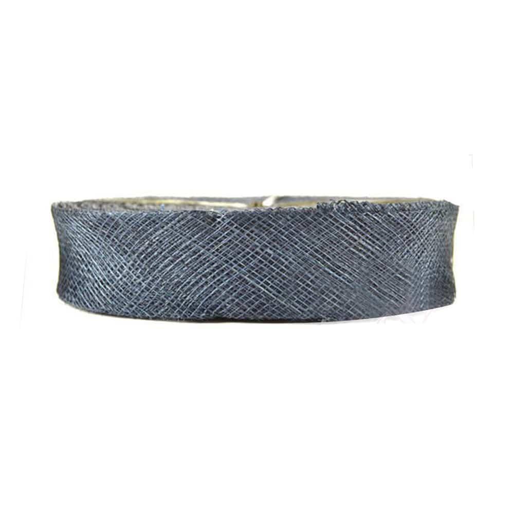cinta sinamay 3 cm azul marino