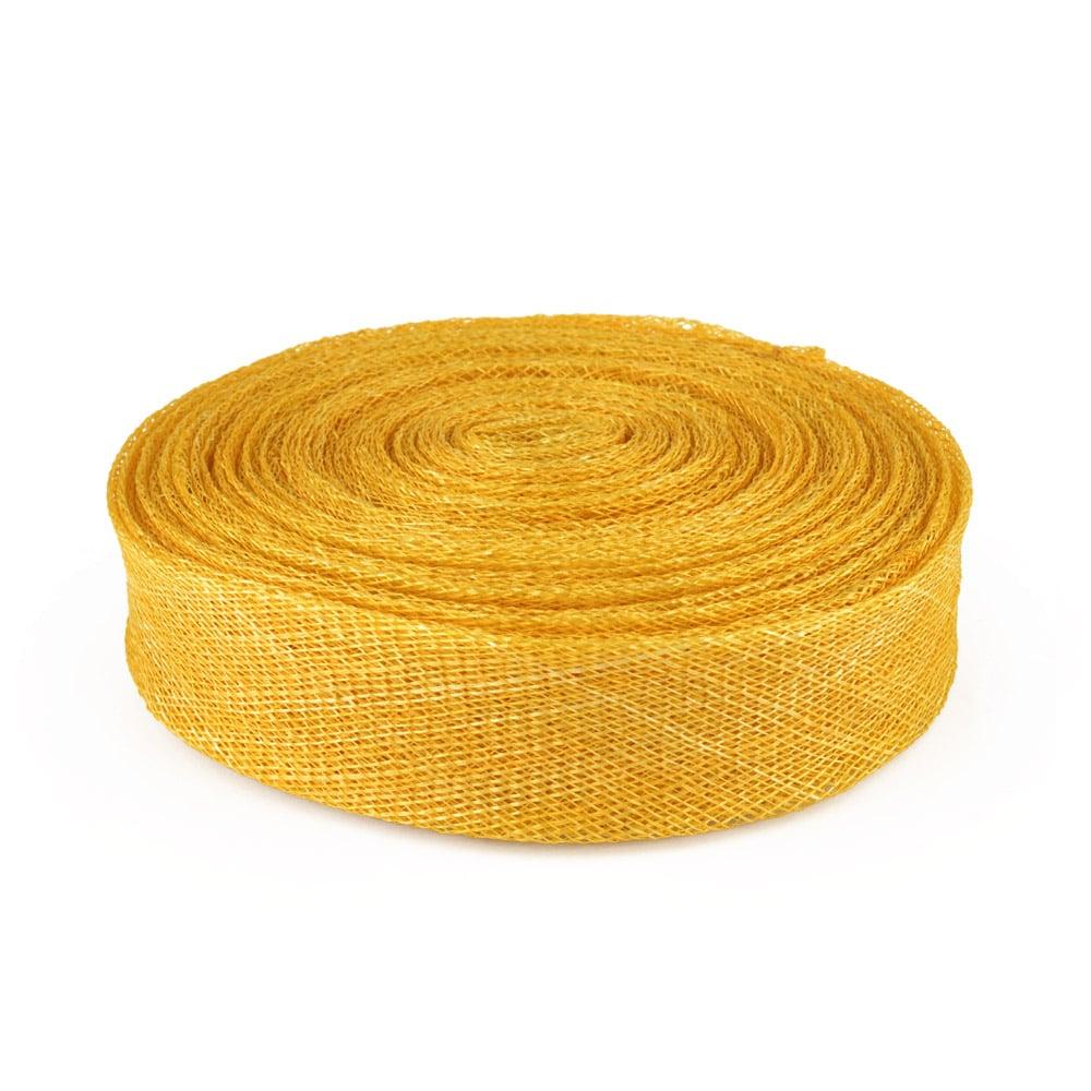 cinta sinamay 3 cm dorado
