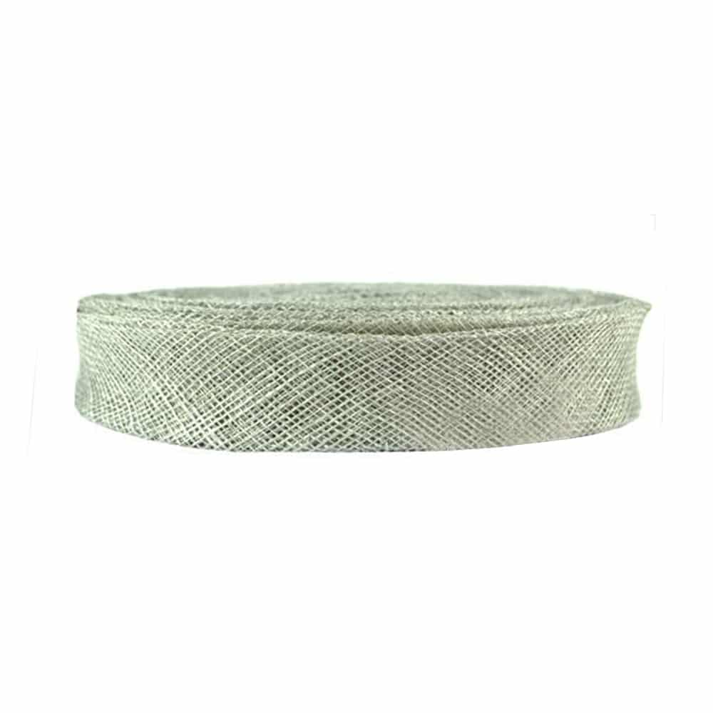 cinta sinamay 3 cm plata