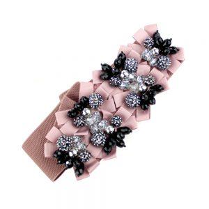cinturon alloy rosa nude oscuro