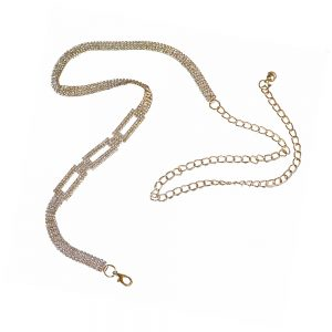 cinturon de strass oro