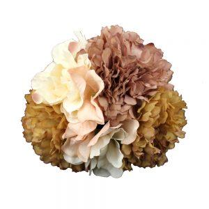 conjunto floral caliope tonos tierra