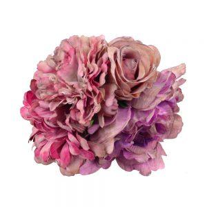 conjunto floral dorote malva
