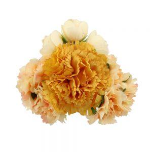 conjunto floral marzo beige