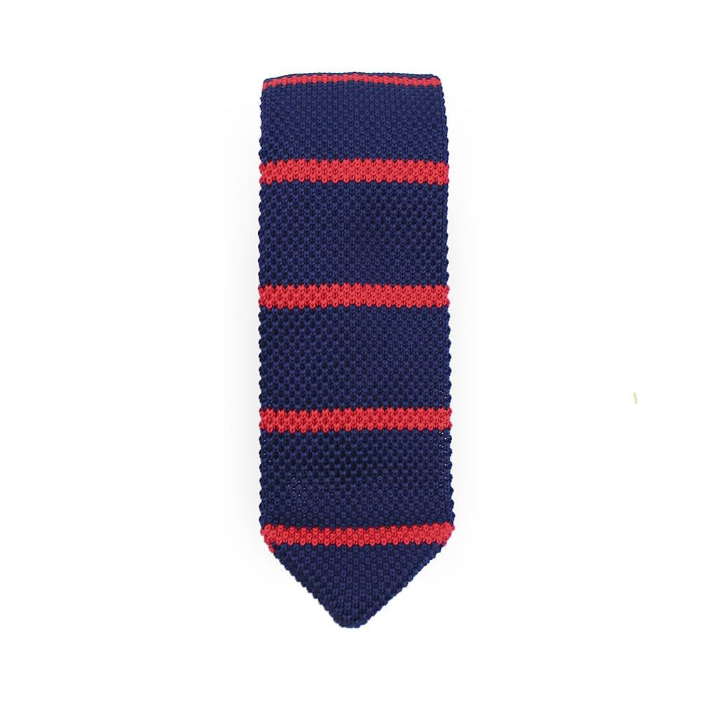 corbata adam croche rayas