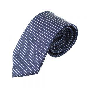 corbata alejo lineas azul marino