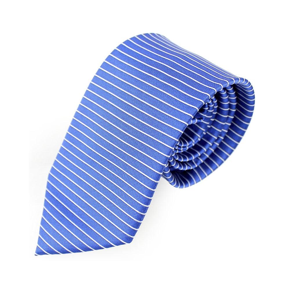 corbata alejo lineas azul oxford