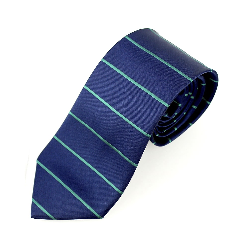 corbata alfonso raya horizontal azul marino