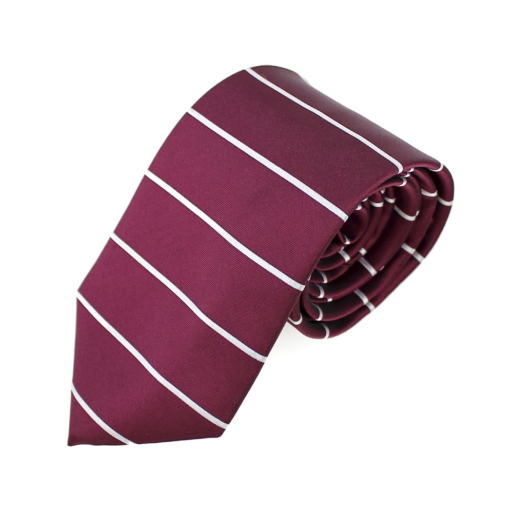 corbata alfonso raya horizontal granate
