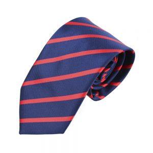 corbata angel rayas azul marino 2