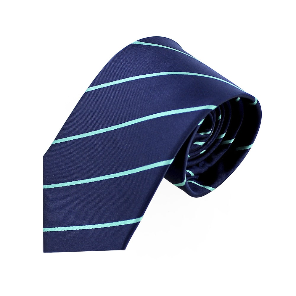 corbata anibal azul marino